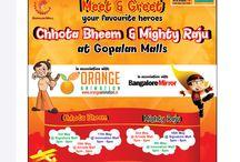 Meet & Greet / Chota Bheem & Mighty Raju