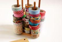 Come tenere in ordine la craft-room / Tante idee per tenere in ordine la craft room.