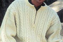 Knitting pattern for men / by Natasja Den Blaauwen