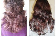 cheveux naturel avec le henné / recette tuto ... pour des cheveux sains et naturels