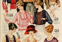 Flappie- a flapper and a hippie. / 1920s' and 1970s' were marked by a significant change in styling and they were not just fashion trends but a change in thinking and the attitude of people.