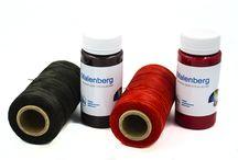 Нить вощеная / Вощеные нитки для работы с кожей.