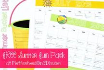 Pinnable Printables / Printables for organizing your home and life.
