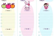 Alicia's planner ideas
