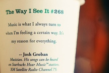 Josh Groban / by Rachel Yacovissi