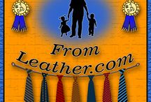 Great Gifts for Father's Day / Leather Apparel and Accessories recommended as gifts for Father's Day from San Diego Leather.