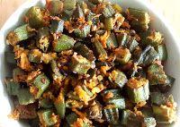 Vendakka fry / Bhindi Coconut Stir Fry | South Indian Samayal Recipes