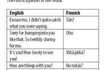 Finnish :D / by Kuro Ichigo