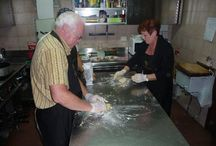 Cooking Classes in San Gimignano / During our #cookingclasses at Tenuta #Torciano #Winery you can learn to #cook traditional #Tuscan #recipes. http://www.torciano.com/USA/winery/tuscan-kitchen-and-wine-school/