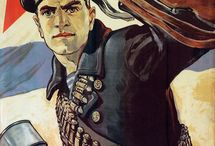 pósters de propaganda soviética
