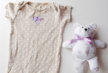 Crafts out of baby clothes