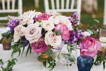 Pink & Blue Wedding