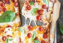 Pizza, lasagne  og lign