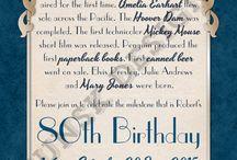 Verjaardaguitnodigings
