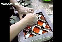 Video - Encaustic cement tiles