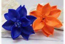 Flower Brooches and Stick Pins