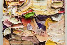 Abstract oil Painting / Abstract Oil Paintings by Boston artist Brigid Watson