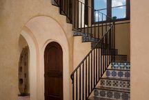 Hacoenda style stairs