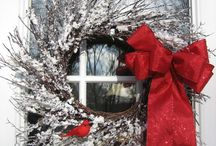 Winter Decorations (non-holiday) / Winter decorating ideas that are not holiday related.