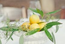 wedding inspiration || fruit / Wedding inspiration on using fruit as decoration for weddings