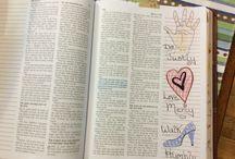 Micah Bible Journaling