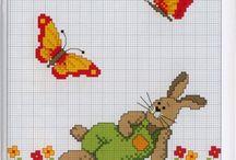 zajac, motylik
