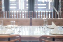 Fixed Seating for Restaurants and Hotels we have been involved in.