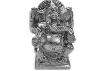 Buy Deity Idols made of Parad (Mercury) Online at Vedicvaani.com / Parad is the combination of Mercury and Silver. In Parad, Silver is used to solidify the Mercury. Parad is the most auspicious metal used for worship of Lord Shiva. Parad is belived to be originated from the sperms of Lord Shiva Puja and worship of Parad Shivling destroys the sins. Vedic Vaani as all types of gods and goddess made of parad.