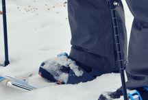 Snowshoeing adventures
