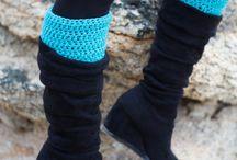 Boot cuff / leg warmer