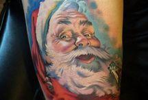 Santa Claus tattoo