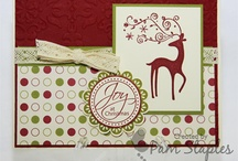 Christmas / Handmade paper craft projects featuring a Christmas or Holiday Theme using Stampin' Up! products
