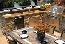 Award Winning Outdoor Kitchen Designs / by All Oregon Landscaping Inc