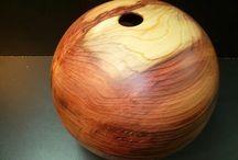 Jean-Marie Girard / Woodturning Design / Créations originales d'objets tournés dans différentes essences de bois  www.alittlemarket.com/boutique/atelierdubois