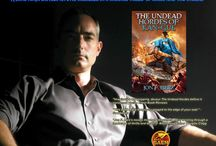 My New Fantasy Series of Books, THE SHADOW WARRIOR SAGA / Book 1: THE UNDEAD HORDES OF KAN-GUL (available NOW) Book 2:  SLAVERS OF THE MUNG CATACOMBS Book 3:  THE TEMPLE OF DEATH / by Jon F. Merz