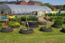 Car Tyre Gardens