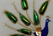 Goldwork Embroidery / Outstanding goldwork embroidery pieces that have inspired me or that I've embroidered personally.
