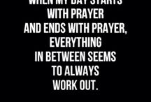 Prayer is comminicating with God