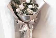 Kwiaty w opakowaniu
