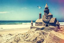 Sand castle and other stuff