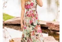 Long Fall Dresses / Long dresses perfect for fall.