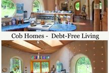 EARTH SHIPs-COB HOMEs-ECO LIVING-TREE HOUSE