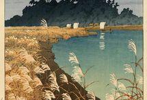 浮世絵風景