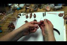 Tutorials / Tutorials for jewelry, wire wrap, crochet.