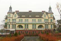 Grzymalin - Pałac / Pałac w Grzymalinie. Współczesny, zbudowany w latach 80-tych XX w. Aktualnie wystawiony na sprzedaż.