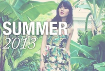 Summer 2013 / by Nicole Miller