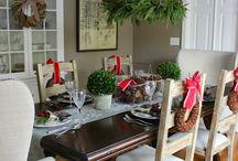 Housedecoration/ Christmas / Inspirasjon til hjemmedekorasjon / holydays