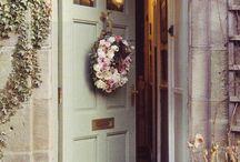 Přední dveře