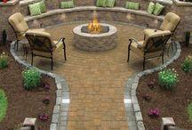 Mała architektura ogrodowa / Grill, fireplace