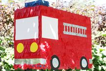 Fire Truck/ Firefighter Birthday Party Ideas